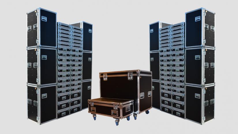 Profesionālas transporta kastes